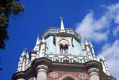 Архитектура парка Tsaritsyno в Москве Стоковое фото RF