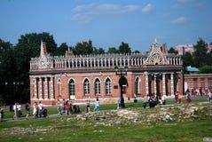 Архитектура парка Tsaritsyno в Москве Стоковое Изображение RF