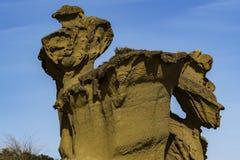 Архитектура песка Скульптуры Bolnuevo естественные стоковое фото rf
