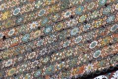 Архитектура поместья Izmailovo в Москве квадрат moscow красный России intercession собора Стоковые Изображения
