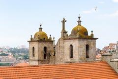 Архитектура Порту, Португалии стоковое изображение