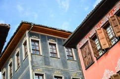 Архитектура Пловдива стоковое фото rf