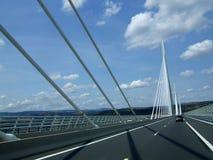 Архитектура самого длинного моста мира стоковое фото rf