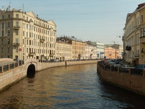 Архитектура Санкт-Петербурга Россия Стоковая Фотография RF