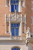 Архитектура стиля Nouveau искусства в Хельсинки Стоковое фото RF