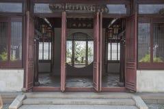 Архитектура Сучжоу классическая стоковое изображение rf