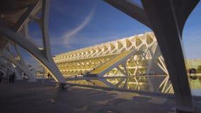 Архитектура центра города Валенсии Испании видеоматериал