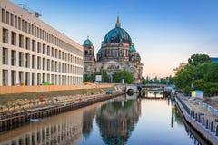 Архитектура центра города в Берлине Стоковые Фотографии RF