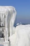 Архитектура льда Стоковые Фотографии RF