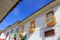 Архитектура Abejorral, Antioquia, Колумбии Стоковое Изображение RF