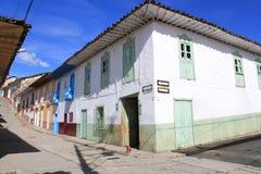 Архитектура Abejorral, Antioquia, Колумбии Стоковые Фотографии RF