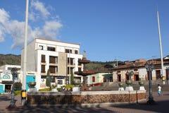 Архитектура Abejorral, Antioquia, Колумбии Стоковая Фотография RF