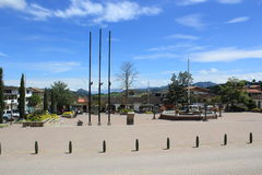 Архитектура Abejorral, Antioquia, Колумбии Стоковые Фото