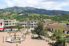 Архитектура Abejorral, Antioquia, Колумбии Стоковое Фото