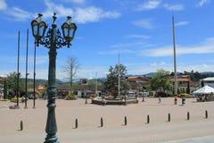 Архитектура Abejorral, Antioquia, Колумбии Стоковые Изображения RF