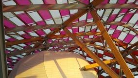 Архитектура Fondation Louis Vuitton Парижа Стоковая Фотография