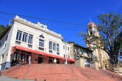 Архитектура Fredonia, Antioquia, Колумбии Стоковые Изображения
