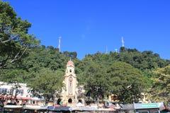 Архитектура Fredonia, Antioquia, Колумбии Стоковые Фото
