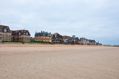 Архитектура Houlgate в Нормандии, Франции Стоковое Изображение
