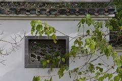 Архитектура Huizhou окна стоковое фото rf