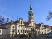 Архитектура Loreta, Праги, чехии Стоковые Изображения RF