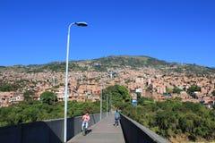 Архитектура, MedellÃn, Antioquia, Колумбия Стоковое Фото