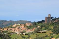 Архитектура, MedellÃn, Antioquia, Колумбия Стоковая Фотография RF