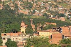 Архитектура, MedellÃn, Antioquia, Колумбия Стоковое Изображение