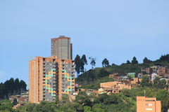 Архитектура, MedellÃn, Antioquia, Колумбия Стоковое Изображение RF
