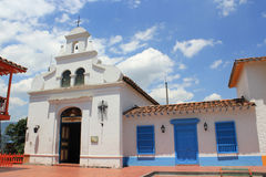 Архитектура ` MedellÃn Pueblito Paisa `, Antioquia, Колумбии Стоковые Фото