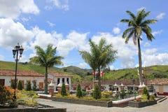 Архитектура, ³ n ConcepciÃ, Antioquia, Колумбия Стоковые Изображения