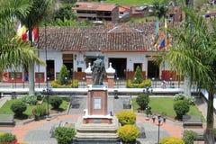 Архитектура, ³ n ConcepciÃ, Antioquia, Колумбия Стоковое Изображение RF
