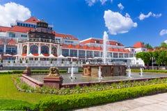 Архитектура Sopot на Molo в Польше Стоковое Изображение RF