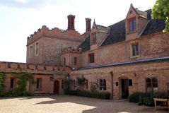 Архитектура Tudor в Норфолке, Англии Стоковые Фото