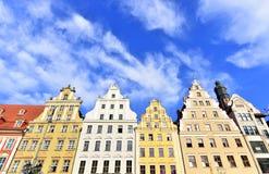 Архитектура Wroclaw Стоковое Фото