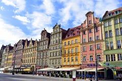 Архитектура Wroclaw Стоковое Изображение