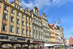 Архитектура Wroclaw Стоковые Изображения RF