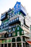 Архитектура Zaandam стоковое изображение