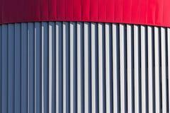 Архитектурноакустическая абстракция в форме вертикальных нашивок Backg Стоковое Изображение RF