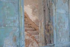 Архитектурноакустическая деталь в Кубе - лестницах Стоковые Фотографии RF