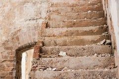Архитектурноакустическая деталь в Кубе - лестницах Стоковое фото RF