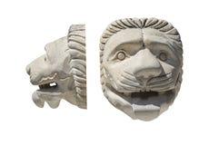 Архитектурноакустическая деталь головы ` s льва Стоковое Изображение RF