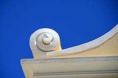 архитектурноакустическая деталь Греция Стоковое фото RF