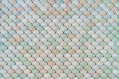 Архитектурноакустическая деталь сетки с текстурой масштабов рыб Стоковые Фотографии RF