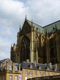 Архитектурноакустическая деталь собора Стоковое Изображение RF