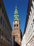 архитектурноакустическая деталь copenhagen Дании Стоковое фото RF