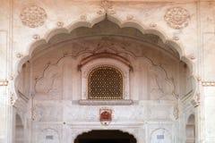 Архитектурноакустическая деталь в дворце города Джайпура Стоковая Фотография