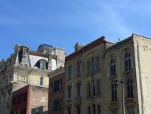 Архитектурноакустическая деталь в горизонте городского Milwaukee, Висконсина, США Стоковое Фото