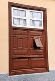 Архитектурноакустическая деталь в Ла Gomera San Sebastian de Стоковое Изображение RF