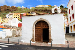 Архитектурноакустическая деталь в Ла Gomera San Sebastian de Стоковое фото RF